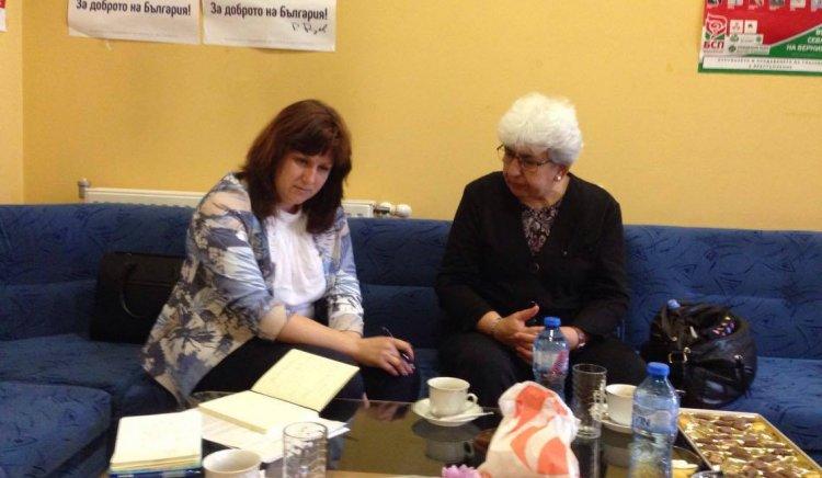 Кристина Сидорова се ангажира да съдейства за решаване на водния проблем в Севлиево