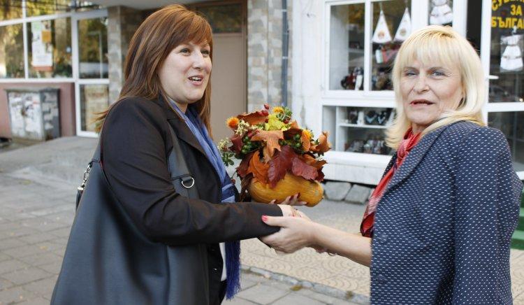 Кристина Сидорова поздрави жените социалистки в Кърджали
