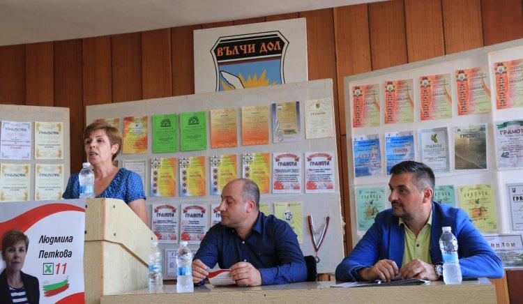 Людмила Петкова, кандидат за кмет на Вълчи дол: Нека да успеем заедно