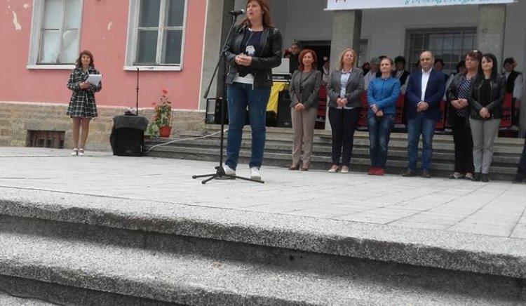 Кристина Сидорова присъства на Земляческа среща в село Гостилица