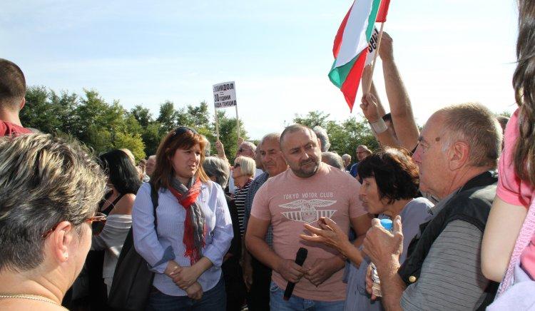Стотици севлиевци протестираха за вода